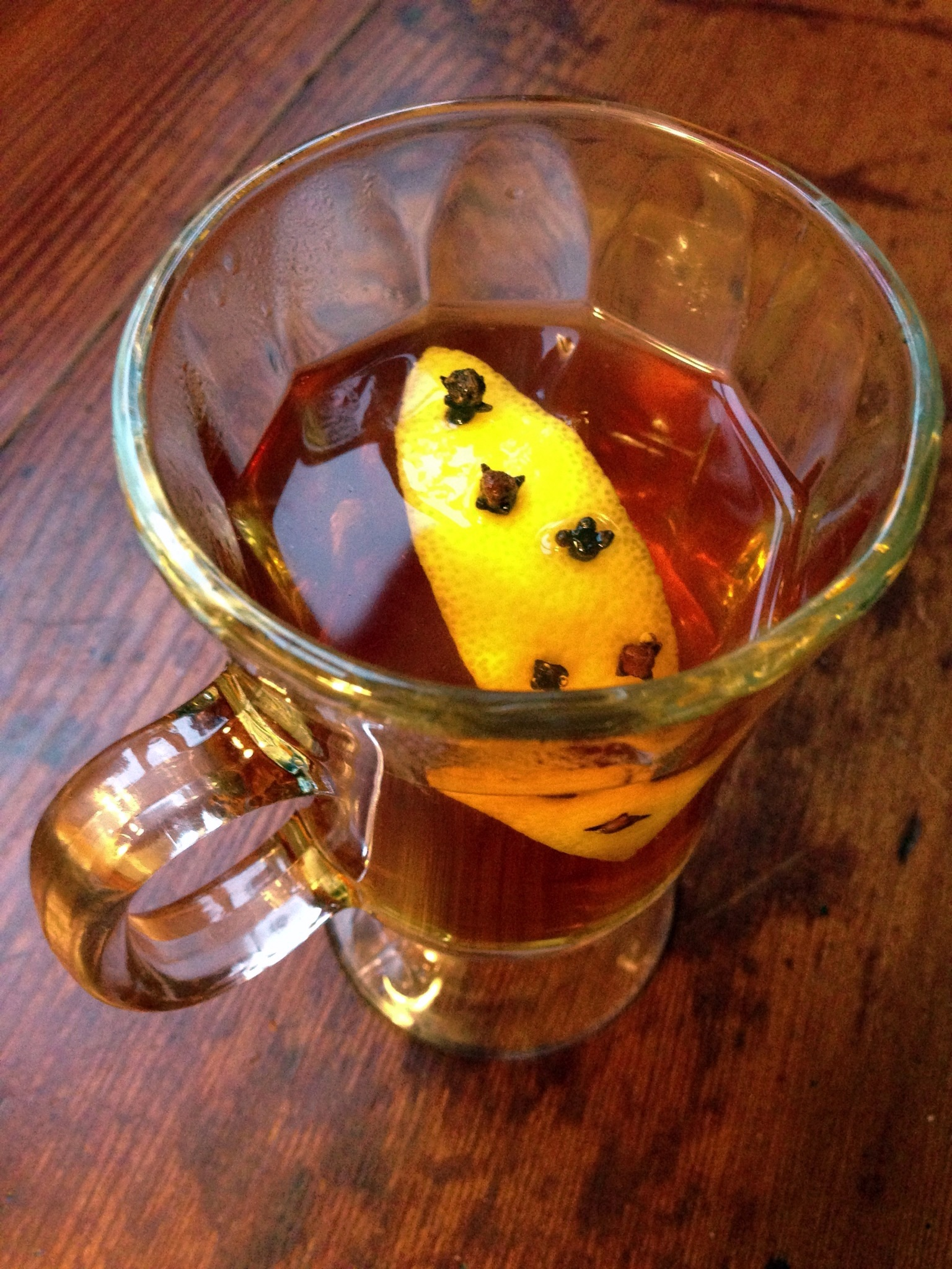 Hot Toddy With Dried Cherries And Lime Recipe — Dishmaps