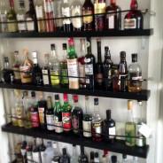 Shelving for Liquor Bottles, or, How I Got My Drinking Problem Under Control